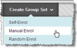 Create Group set screenshot