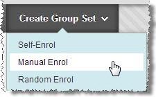 Create Group set screenshot