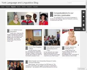 Languages and Linguistics Blog