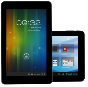Picture of two tablet Pc's