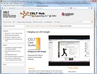 Screenshot of Case Study