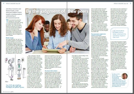 Forum magazine article
