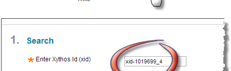 XID finder tool interface