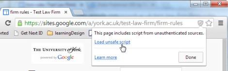 1load unsafe script