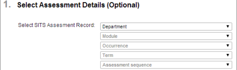 New Anonymous Assignment Interface