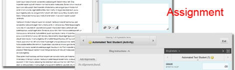 Screen shot comparing the user interface across the tools