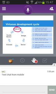 Blackboard Collaborate Mobile App on Android