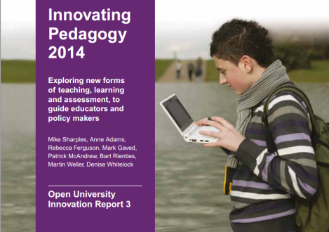 Innovating Pedagogy screenshot