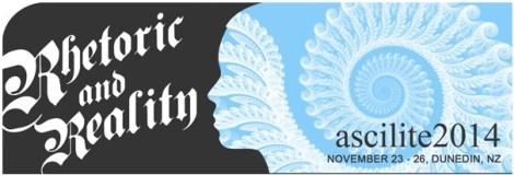ascilite Rhetoric and Reality Conference Logo