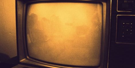 Photo (cc) Sarah Reid / Flickr - Old fashioned TV