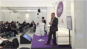 Richard Walker presenting at bett 2015