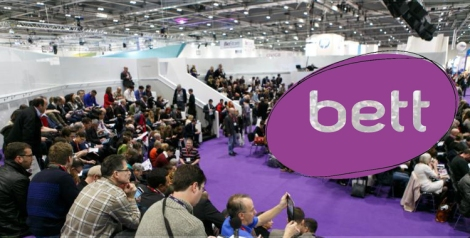 Participants in the arena at the bett conference 2015