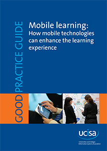 Cover of mobile learning good practice guide