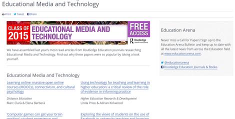 Routledge Screenshot