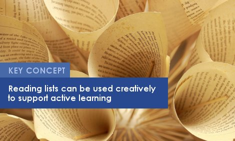Key Concept: Reading lists can be used creatively to support active learning