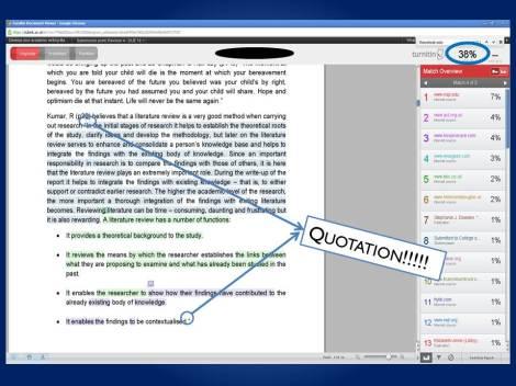 turnitin originality report example