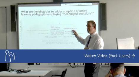 Watch Video: Simon Lancaster ResponseWare Lunch and Learn (York Users Only)