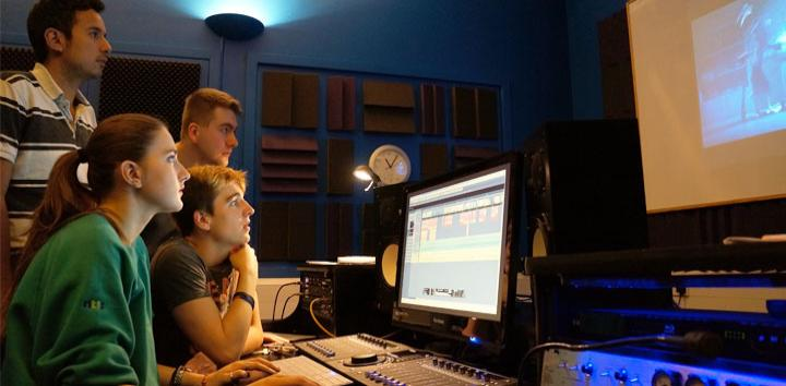Audio and Music Technology students