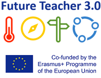 Future Teacher 3.0 and Erasmus logo