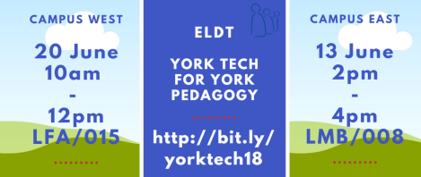 york tech for york pedagogy sticker