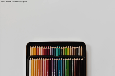 Colour pencils by Kelly Sikkema on Unsplash