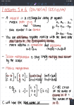 Handwritten notes with maths on an iPad Pro on the Notability app