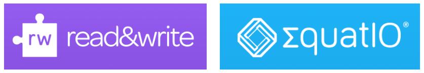 Read&Write and EquatIO logos